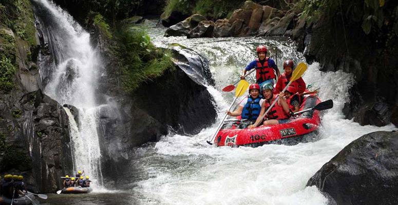 Ayung River Rafting White Water Rafting At Ayung River In Ubud Bali