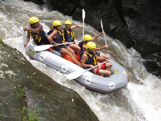 Ayung Rafting Ubud Most Challenging White Water Rafting In Bali