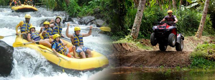 Bali Rafting And Atv Ride Package Bali River Rafting