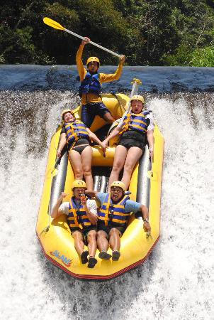 Telaga Waja Rafting Bali Best Rafting Site For Beginner And Family