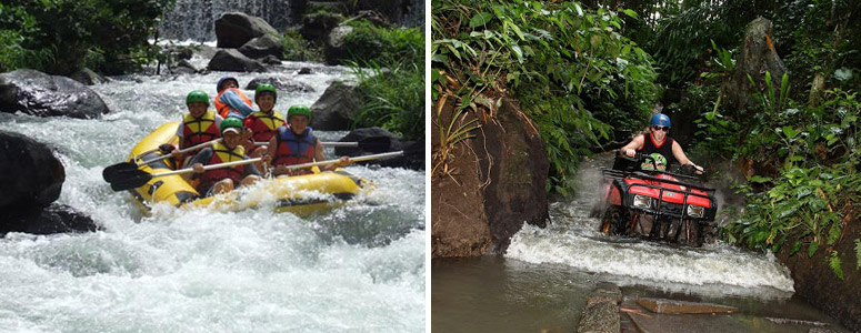 bali rafting and atv ride