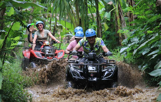 Ubud Jungle ATV ride