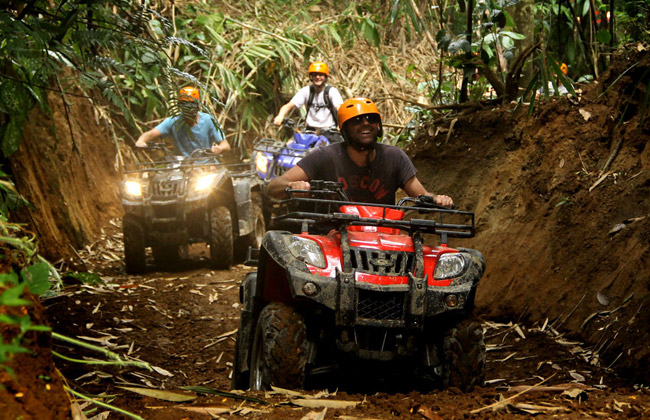 Ayung Rafting and UBUD ATV Ride